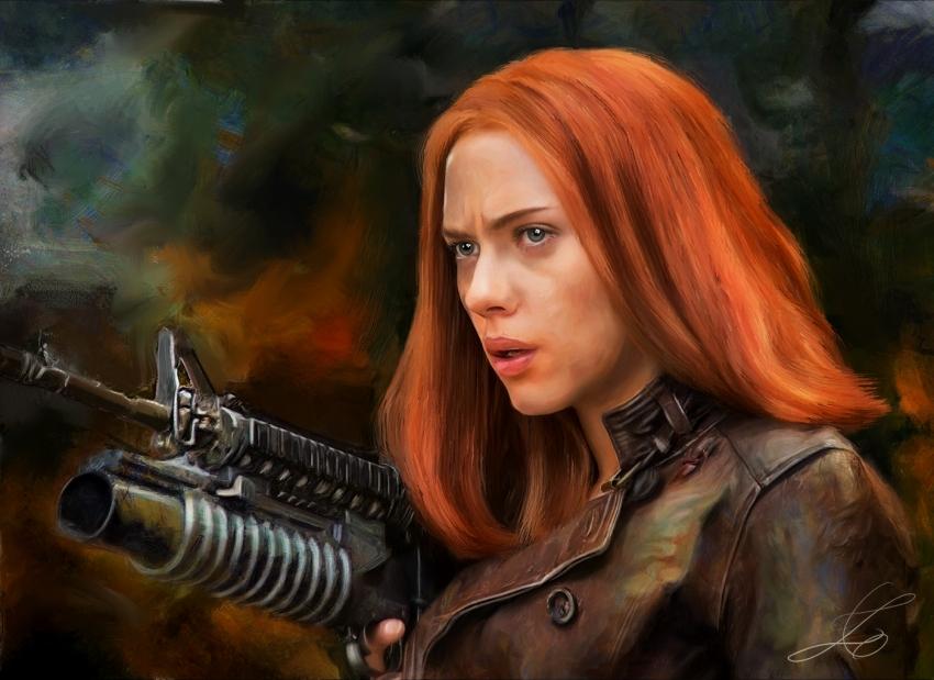 Scarlett Johansson by z6ig